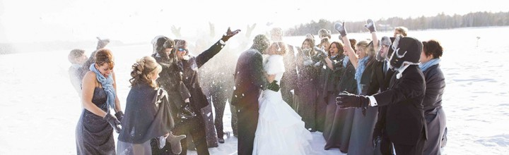 Wausau Wedding Photographer + Jason and Kerri-Lynn's Winter Wedding Wonderland